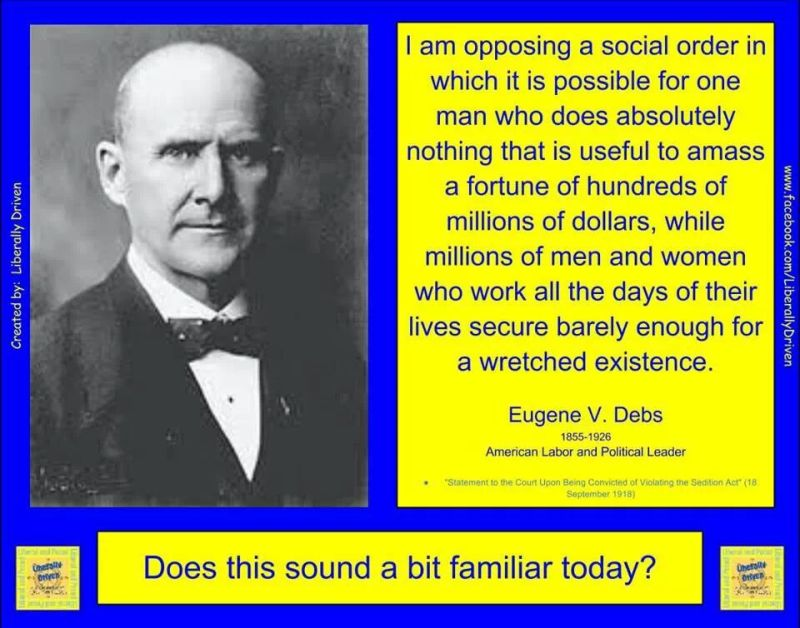 Eugene Debs - New World Order