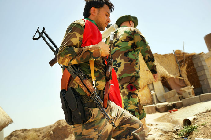 Kurdish Peshmerga July 3 2014
